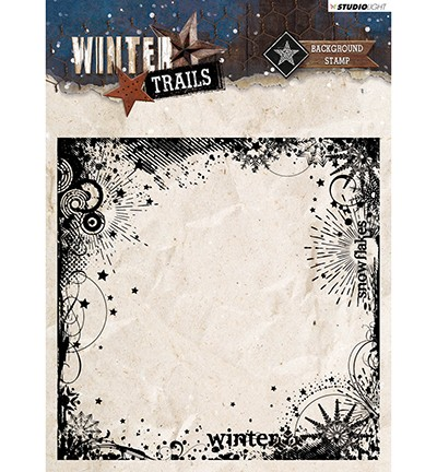 Studio Light - Winter Trails - Clearstamp STAMPWT305