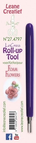Leane Creatief - Roll up tool for making Flower Foam Roses