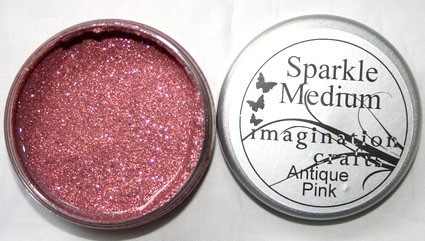 Imagination Crafts - Sparkle Medium - Antique Pink