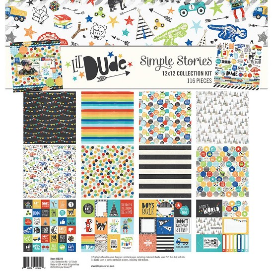 Simple Stories - Lil` Dude - Collection Kit