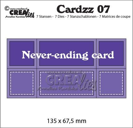 Stansmal Crealies - Cardzz - Nr. 07 Never Ending Card