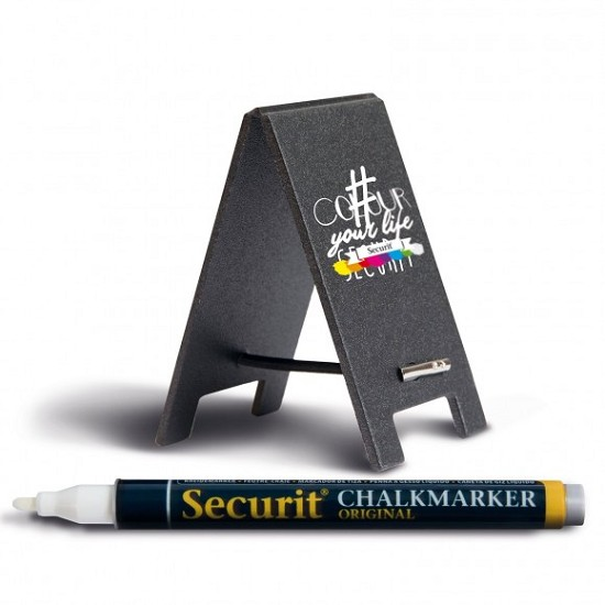 Securit - Mini table chalkboard - set of 5