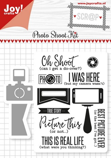 Noor! Design - Scr@p! Die-Cut & Stamp - Photo Shoot Kit