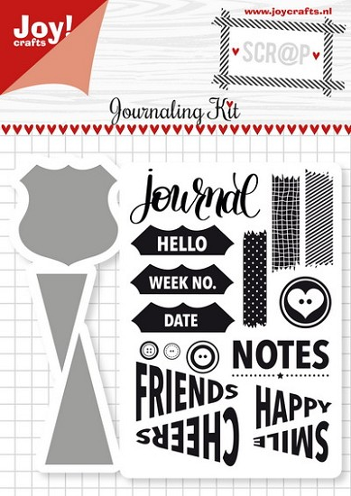 Noor! Design - Scr@p! Die-Cut & Stamp - Journaling Kit