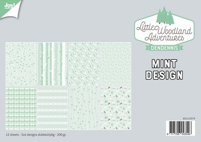 DenDennis - Little Woodland Adventures - Paperpad Design Mint