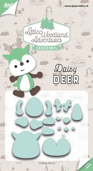 DenDennis - Little Woodland Adventures - Cutting Die Daisy Deer