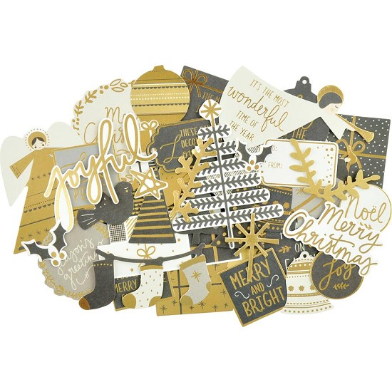 Kaisercraft - Collectables Cardstock Die-Cuts - First Noel