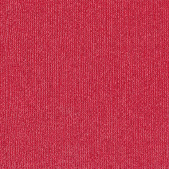 "Florence Cardstock - Texture 12x12"" - Ruby"