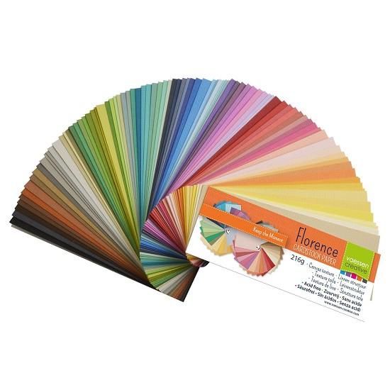 Florence - Cardstock Texture - Kleurenwaaier