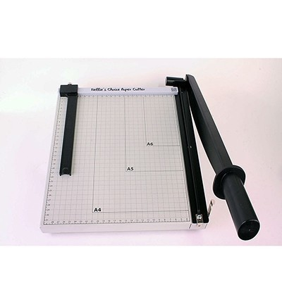 Nellie`s Choice - XL Metal Papercutter with slider (metric-scale)