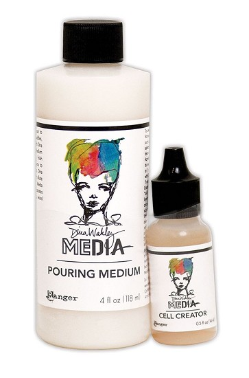 Dina Wakley - Pouring Medium 118ml + Cell Creator 14,5ml