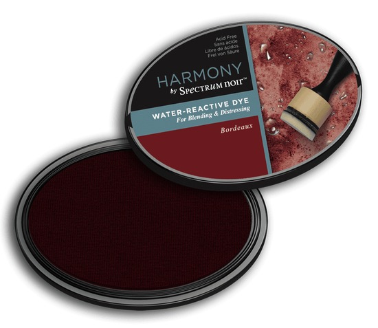 Crafter`s Companion Ink - Harmony Water Reactive Dye Ink - Bordeaux