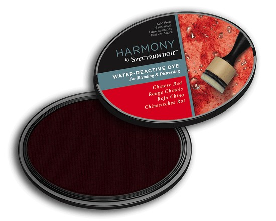 Crafter`s Companion Ink - Harmony Water Reactive Dye Ink - Chinese Red