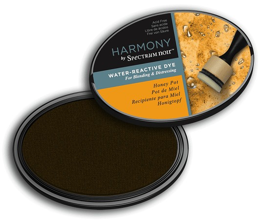 Crafter`s Companion Ink - Harmony Water Reactive Dye Ink - Honey Pot