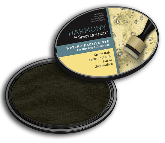 Crafter`s Companion Ink - Harmony Water Reactive Dye Ink - Straw Bale