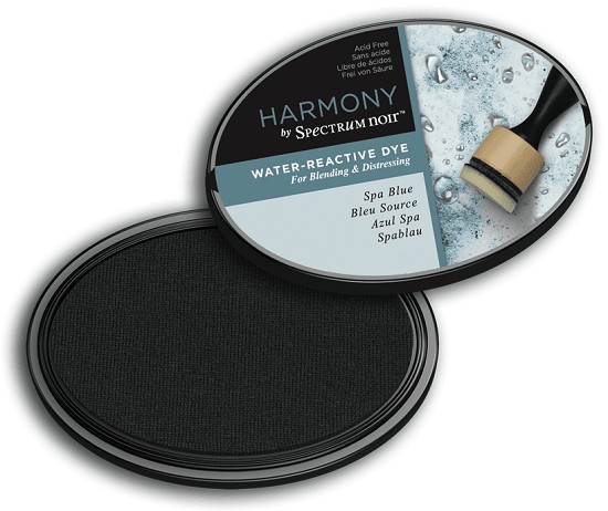 Crafter`s Companion Ink - Harmony Water Reactive Dye Ink - Spa Blue