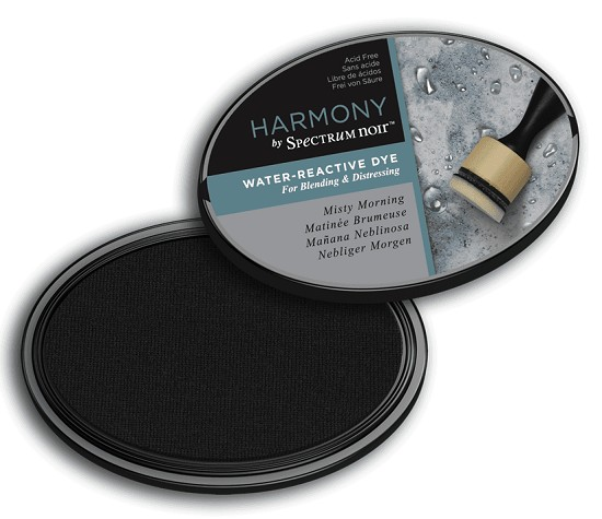 Crafter`s Companion Ink - Harmony Water Reactive Dye Ink - Misty Morning
