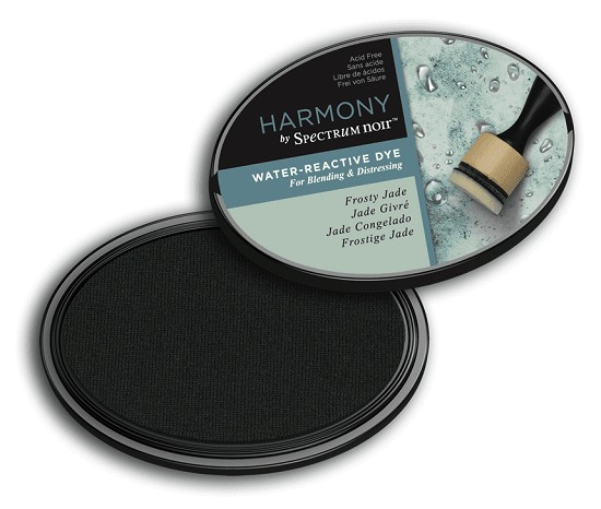 Crafter`s Companion Ink - Harmony Water Reactive Dye Ink - Frosty Jade