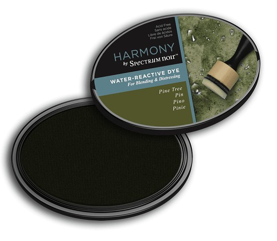Crafter`s Companion Ink - Harmony Water Reactive Dye Ink - Pine Tree