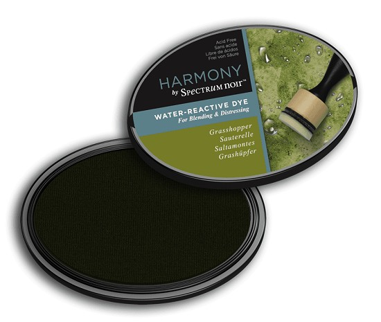 Crafter`s Companion Ink - Harmony Water Reactive Dye Ink - Grasshopper