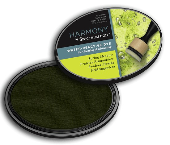 Crafter`s Companion Ink - Harmony Water Reactive Dye Ink - Spring Meadow