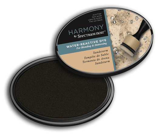 Crafter`s Companion Ink - Harmony Water Reactive Dye Ink - Sandstorm