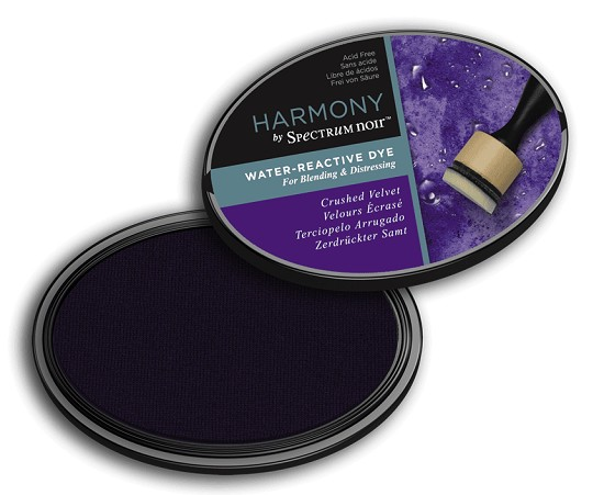 Crafter`s Companion Ink - Harmony Water Reactive Dye Ink - Crushed Velvet