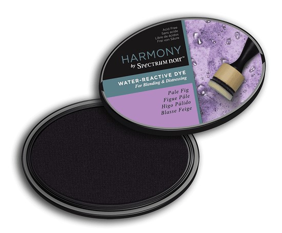 Crafter`s Companion Ink - Harmony Water Reactive Dye Ink - Pale Fig