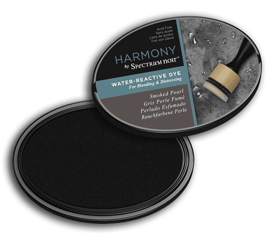 Crafter`s Companion Ink - Harmony Water Reactive Dye Ink - Smoked Pearl