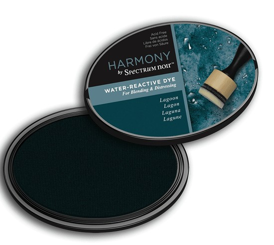 Crafter`s Companion Ink - Harmony Water Reactive Dye Ink - Lagoon