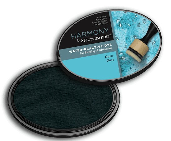 Crafter`s Companion Ink - Harmony Water Reactive Dye Ink - Oasis