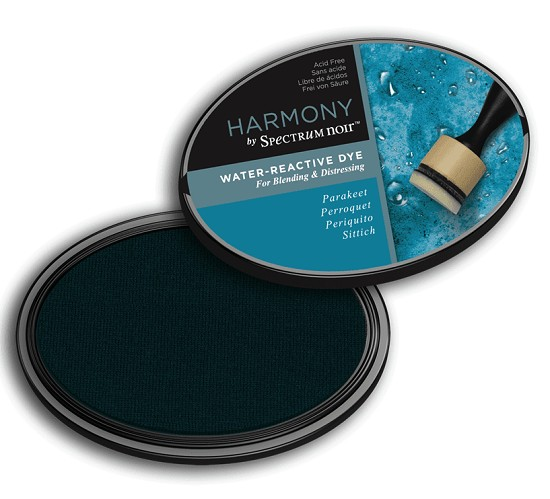 Crafter`s Companion Ink - Harmony Water Reactive Dye Ink - Parakeet