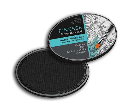 Crafter`s Companion Ink - Finesse ink - Water Proof - Flagstone