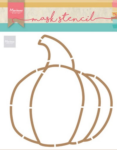Marianne Design - Craft Stencil by Marleen - Pumpkin