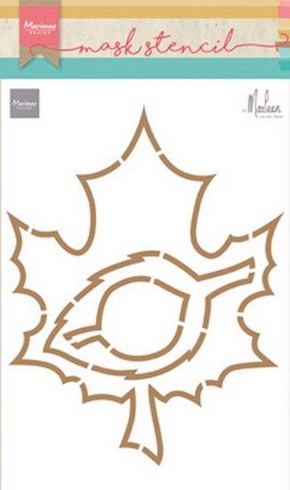 Marianne Design - Craft Stencil by Marleen - Autumn Leaves