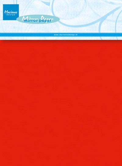 Marianne Design - Decoration Paper - Mirror Paper Red