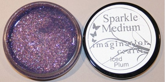 Imagination Crafts - Sparkle Medium - Iced Plum