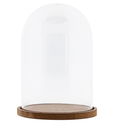 Studio Light - Plastic stolp met mdf basis - 11CM X 15,5CM