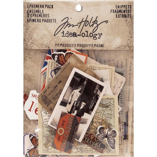 Tim Holtz - Idea-Ology Die-Cuts - Snippets 111/Pkg
