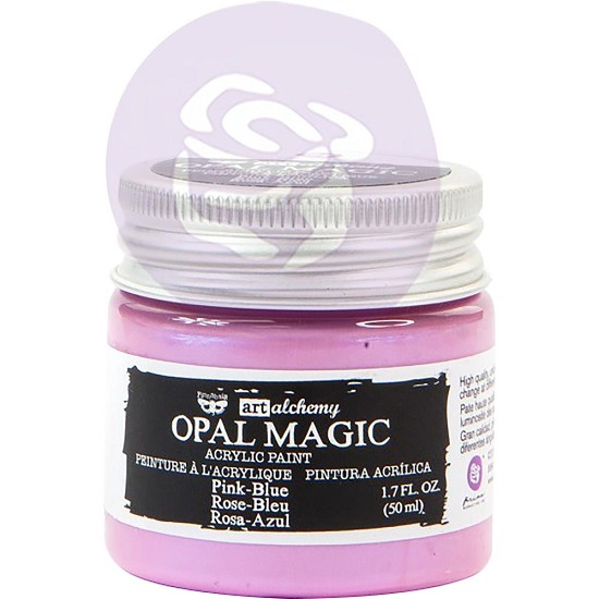 Finnabair Art Alchemy - Acrylic Paint - Opal Magic Pink/Blue