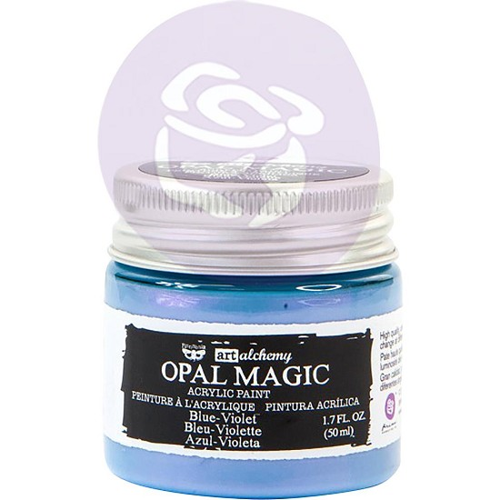 Finnabair Art Alchemy - Acrylic Paint - Opal Magic Blue/Violet