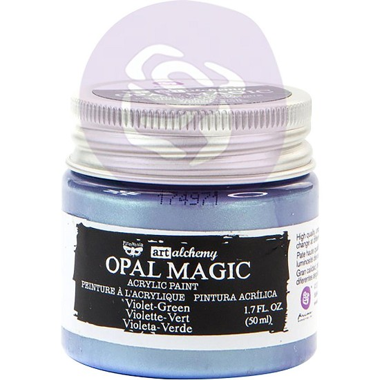Finnabair Art Alchemy - Acrylic Paint - Opal Magic Violet/Green