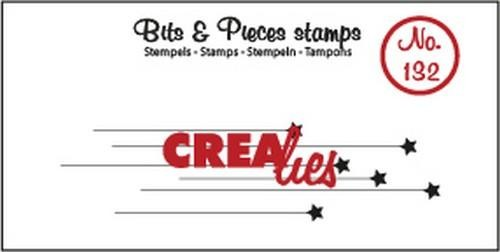 Crealies - Clearstamp Bits & Pieces - Hangende sterretje