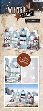 Studio Light - MDF Set 3D Houses incl verlichting - Winter Trails