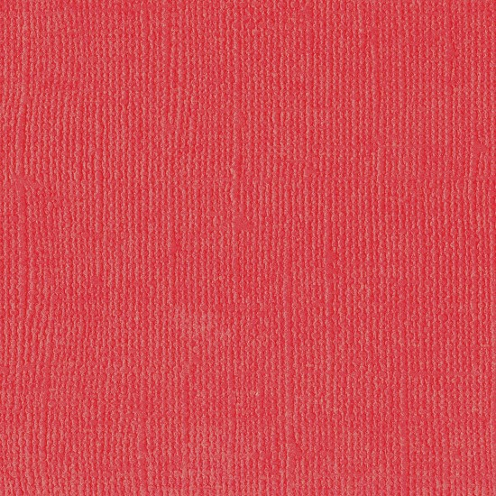 "Florence Cardstock - Texture 12x12"" - Poppy"