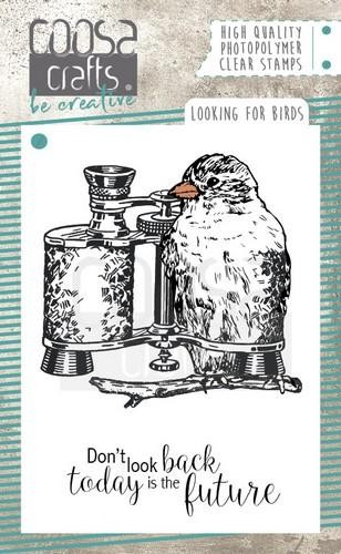 COOSA Crafts - Clearstamps A7 - Looking for Birds