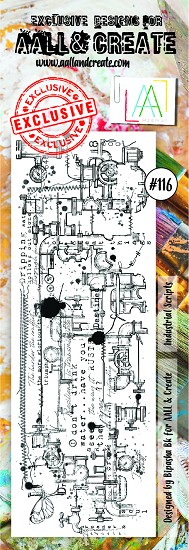 AALL & CREATE - Clearstamp border - set number 116