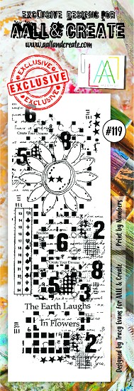 AALL & CREATE - Clearstamp border - set number 119