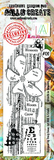 AALL & CREATE - Clearstamp border - set number 120