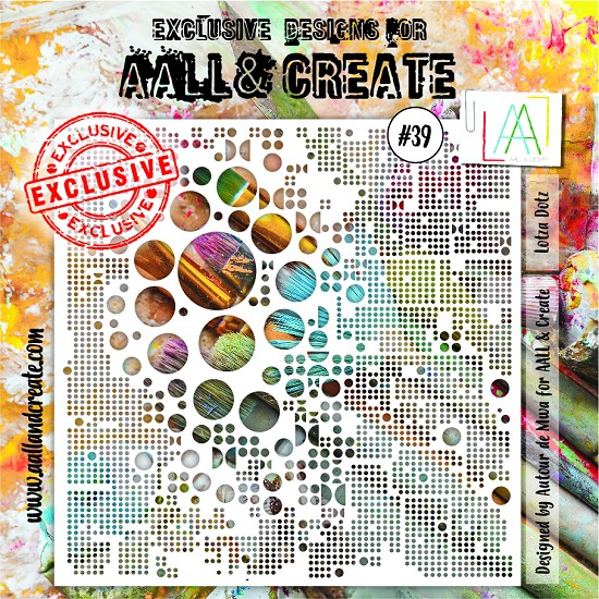 AALL & CREATE - Stencils - set number 39